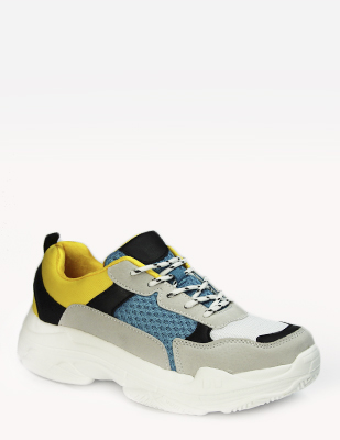 JSZ-8104 blue yellow (35-40)  Обувь